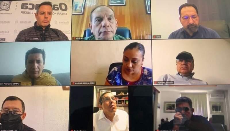AMH encabeza mesa de seguridad para restablecer la paz en la Mixteca