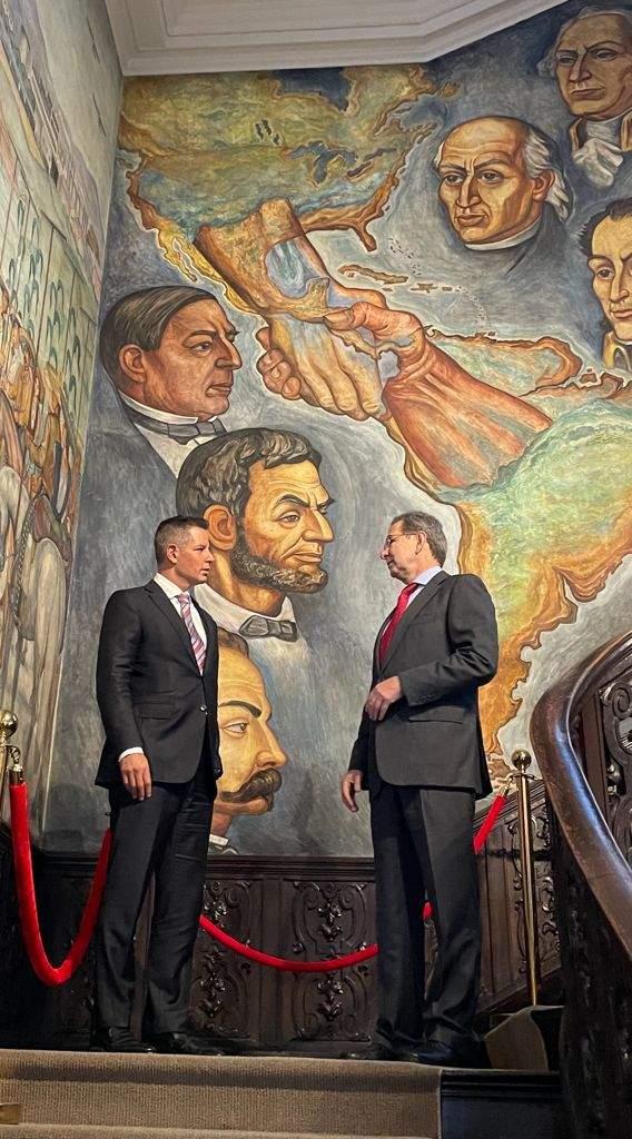 """Anuncian Alejandro Murat y Embajador Esteban Moctezuma """"Mes de Oaxaca en Estados Unidos"""""""