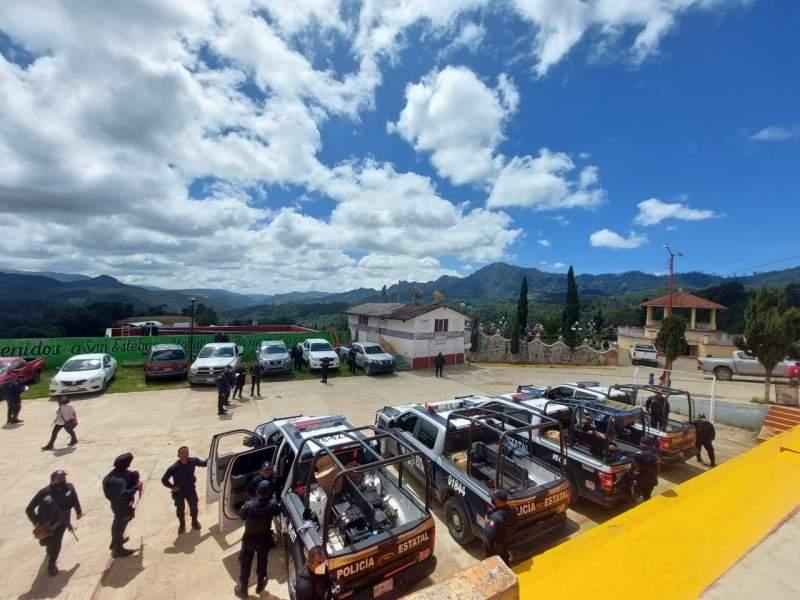 Coordina Gobierno del Estado ingreso de las fuerzas del orden y de la FGEO  en San Esteban Atatlahuca y Guerrero Grande