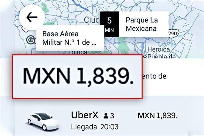 Llegar a Aeropuerto de Santa Lucía tomará 2 horas y $1,839