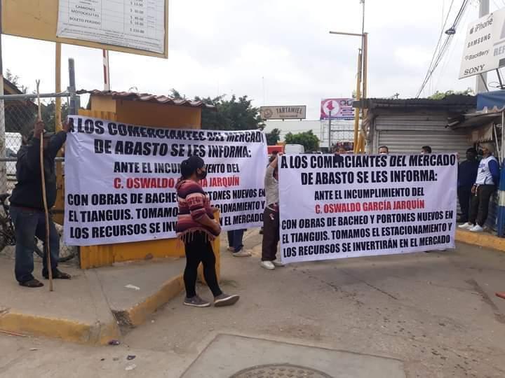 No paran las protestas contra Oswaldo García Jarquín