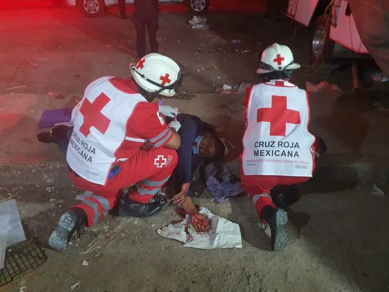 Sigue la violencia en la Central de Abasto, ahora lesionan y asaltan a un individuo